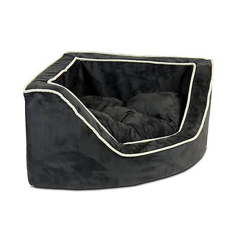 Snoozer Luxury Microsuede Corner Dog Bed