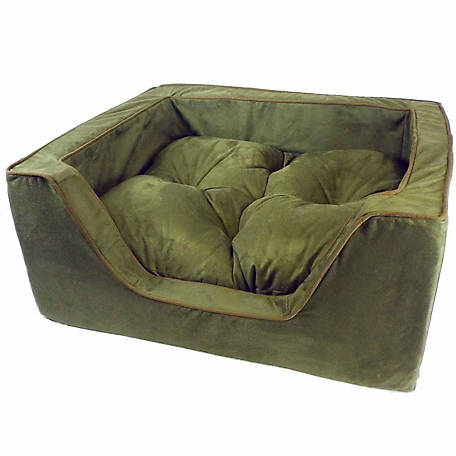 Snoozer Luxury Microsuede Square Dog Bed
