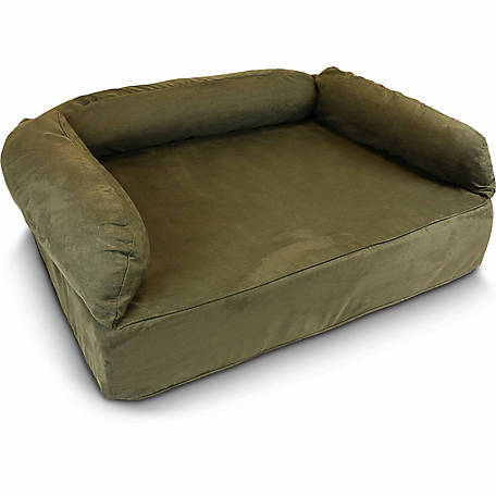 Snoozer Luxury Microsuede Memory Foam Pet Sofa