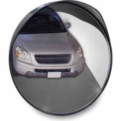 Convex tractor mirror