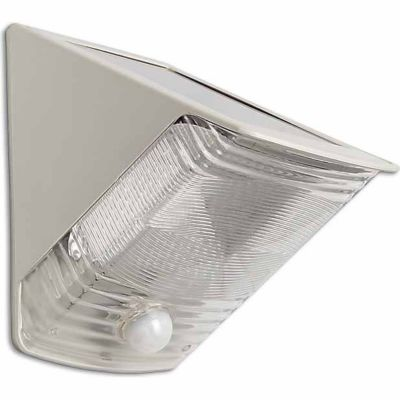 Buy MAXSA Innovations Solar-Powered Motion-Activated Wedge Light Online