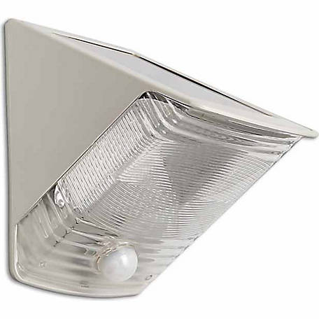 MAXSA Innovations Solar-Powered Motion-Activated Wedge Light