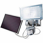 MAXSA Innovations Solar-Powered 100 LED Motion-Activated Outdoor Security Floodlight