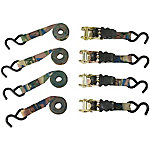 Epic Camo Ratchet Strap, Pack of 4