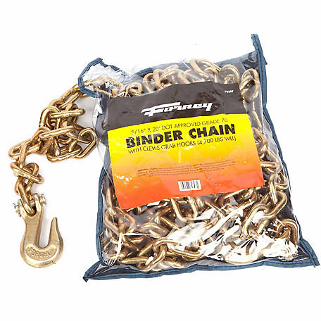 Forney 5/16 x 20 Binder Chain