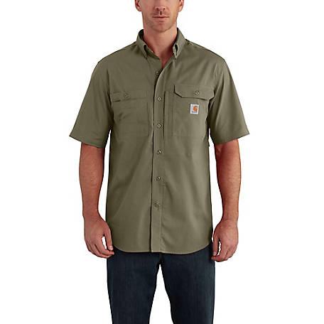 80ab488e07 Carhartt Men s Force Ridgefield Solid Short Sleeve Shirt