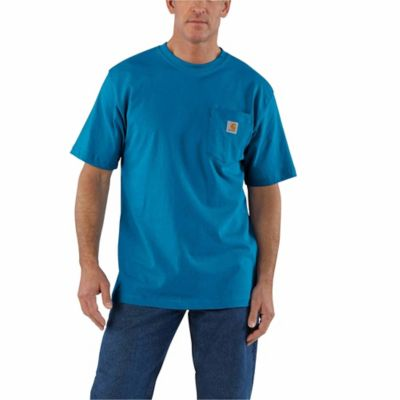 Carhartt Herren T-Shirt Explorer Graphic T-Shirt S//S Bluestone