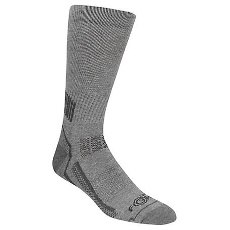 Carhartt Men's FORCE Performance Work Crew Sock, Pack of 3