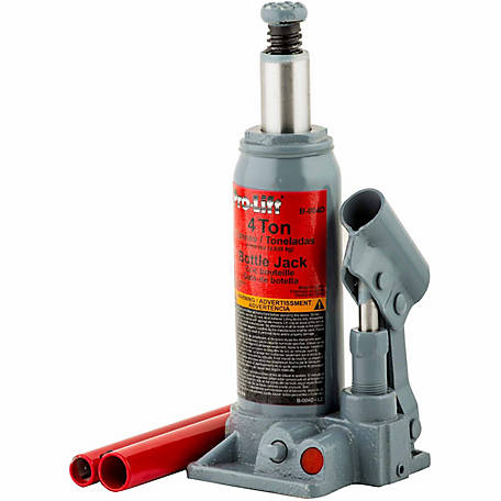 Pro-Lift 4-Ton Hydraulics Bottle Jack