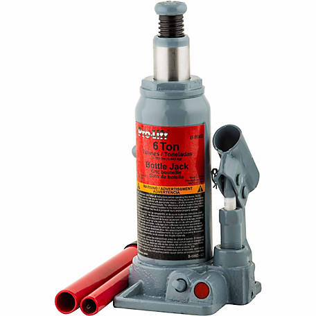 Pro-Lift 6-Ton Hydraulics Bottle Jack
