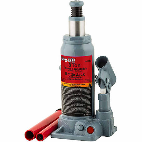 Pro-Lift 8-Ton Hydraulics Bottle Jack