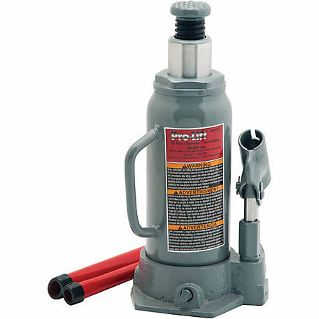 Pro-Lift 12-Ton Hydraulics Bottle Jack