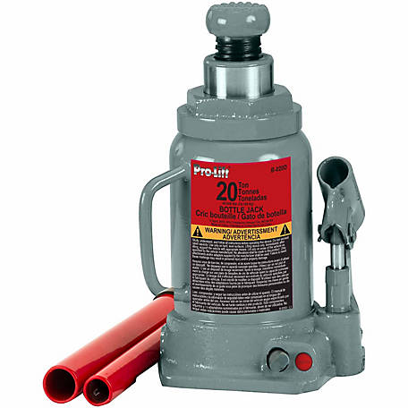Pro-Lift 20-Ton Hydraulics Bottle Jack