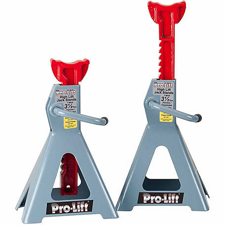Pro-Lift 3.5-Ton High Lift Jack Stands