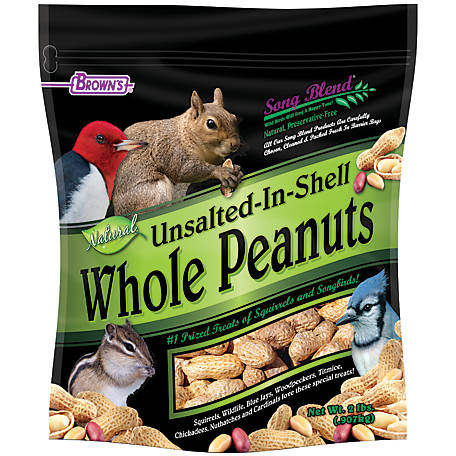 Song Blend Unsalted In-Shell Whole Peanuts, 2 lb., 42197