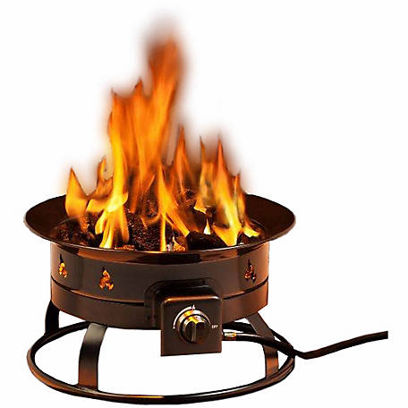 DestinationGear 58,000 BTU Portable Propane Outdoor Fire Pit, 5995