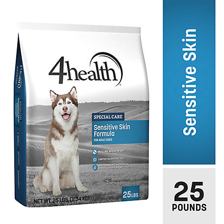 4health Special Care Sensitive Skin Formula for Adult Dogs, 25 lb. Bag