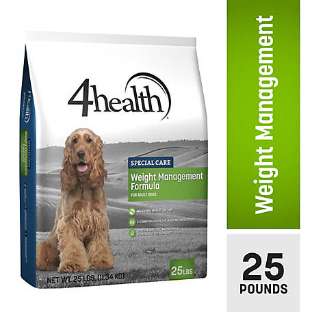 4health Special Care Weight Management Formula for Adult Dogs, 25 lb. Bag