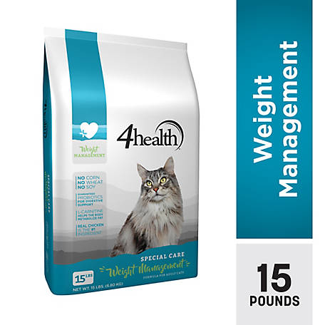 4health Special Care Weight Management Formula for Adult Cats, 15 lb. Bag