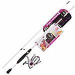 Ready 2 Fish Pink Multi-Species Spin Combo, Reel Size 20