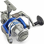 Hurricane Blue Fin Spinning Reel, Reel Size 70
