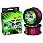 PowerPro Spectra Vermilion Red Braided Fishing Line, 150 yd./30 lb.