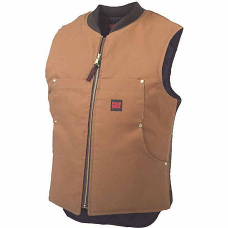 Tough Duck Men's Quilt Lined Vest 1937