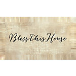 Designs Direct Bless This House 20x10 Canvas Wall Art