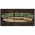 Designs Direct Gone Hunting 20x10 Canvas Wall Art