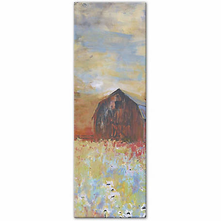 Designs Direct Barn Abstract Two 12x36 Canvas Wall Art