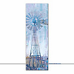 Designs Direct Windmill Abstract 12x36 Canvas Wall Art