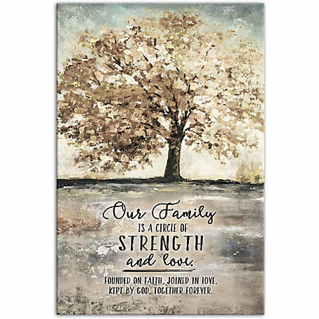 Designs Direct Our Family Tree 20x30 Canvas Wall Art