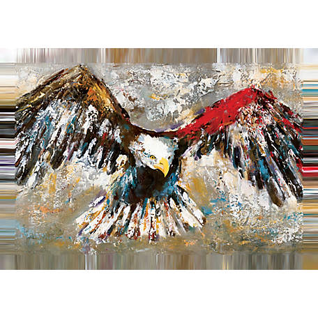 Designs Direct Painterly Eagle 30x20 Canvas Wall Art