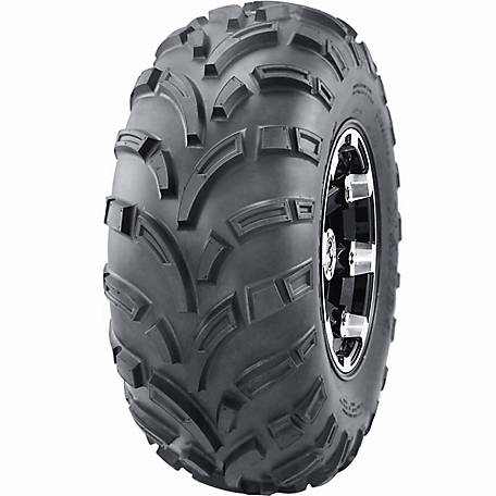 Hi-Run WD1240 ATV/UTV Tire, 25X10.00-12 6PR (TIRE ONLY)
