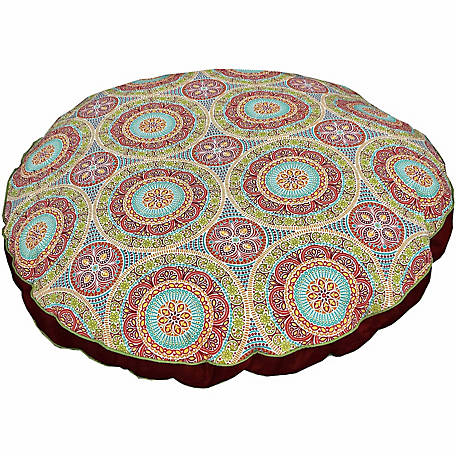 Snoozer Indoor/Outdoor Round Dog Bed, Delancy