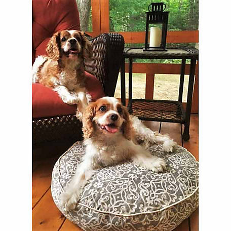 Snoozer Indoor/Outdoor Round Dog Bed, Gondola