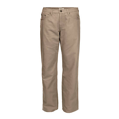 Blue Mountain Men's Canvas 5 Pocket Pant FMB-1504