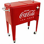 Leigh Country 65 qt. Coca-Cola Embossed Ice Cold Cooler