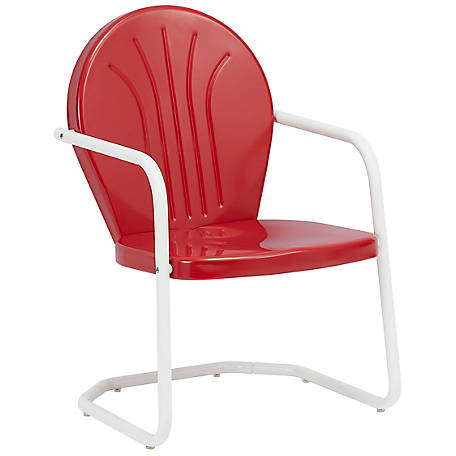 Leigh Country Red Retro Chair