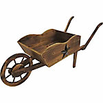 Leigh Country Charred Wheelbarrow Planter