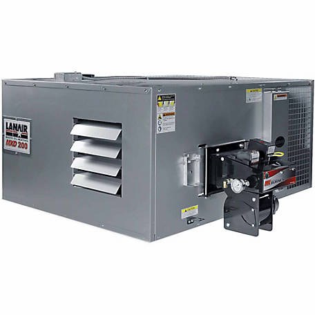 Lanair MXD-200 Ductable Waste Oil Heater Unit