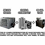 Lanair MX-250A Waste Oil Heater Unit