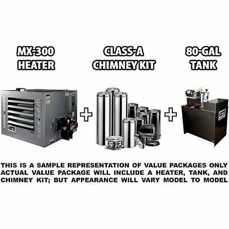 Lanair MX-300A Waste Oil Heater Unit