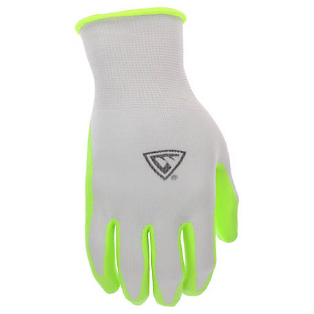 West Chester Hi-Vis Foam Nitrile Glove
