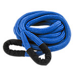 DitchPig Kinetic Vehicle Recovery Rope, 1/2 in. x 20 ft. (7,300 lb. Breaking Strength)