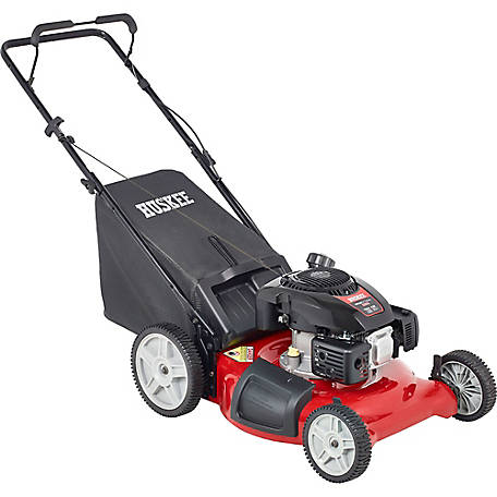 149cc 3-in-1 high-wheel push mower, hm21ph