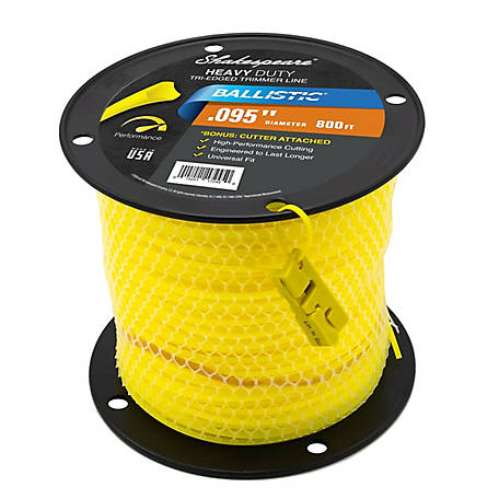 Shakespeare Universal Ballistic, .095 in., 800 ft., Triangle Shape Trimmer Line