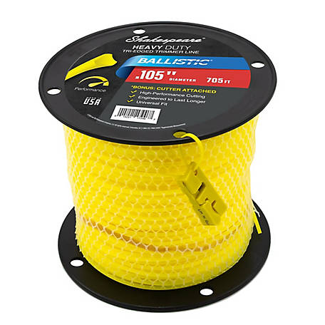 Shakespeare Universal Ballistic, .105 in., 705 ft., Triangle Shape Trimmer Line