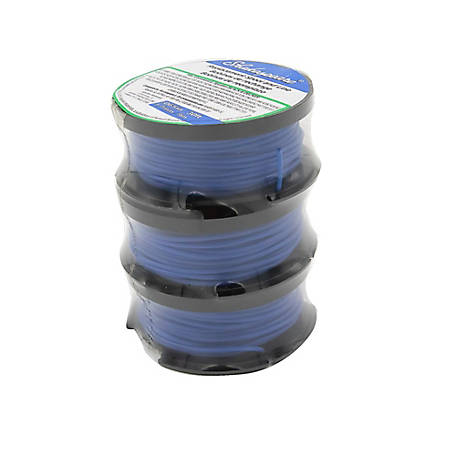 Shakespeare 3-Pack Replacement Spool & Line, .065 in., 30 ft. each