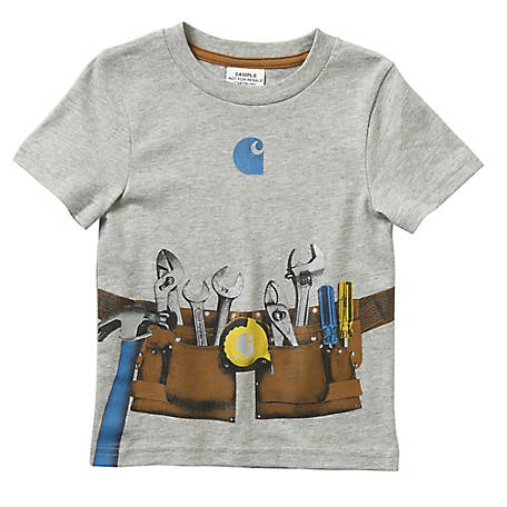 Carhartt Boys' Infant Short Sleeve Tool Belt T-Shirt